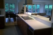 White Kitchen Granite Slab